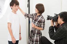 宣材写真・オーディション写真はプロカメラマンが撮影