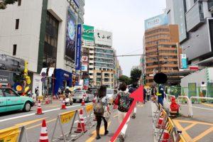 渋谷へのルート3